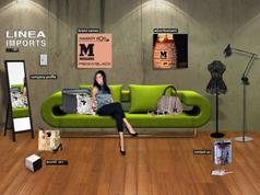 Linea Imports website